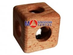 Кубик с отверстиями