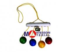 Разноцветные шарики со звонком