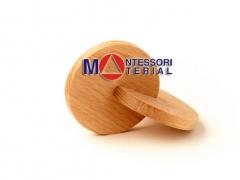 Два деревянных диска